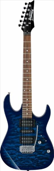 Ibanez GRX70QA-TBB Electric Guitar - Transparent Blue Burst
